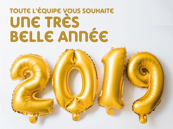 La Guilde du dé vous souhaite une très belle année 2019