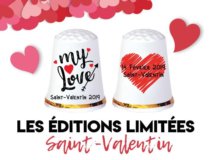 Editions Limitées Saint-Valentin